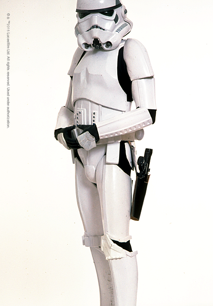 Back to RJPQ Costumes  sc 1 st  Star Wars and the Power of Costume - Smithsonian Institution & Stormtrooper Costume from Rebel Jedi Princess Queen: Star Wars ...