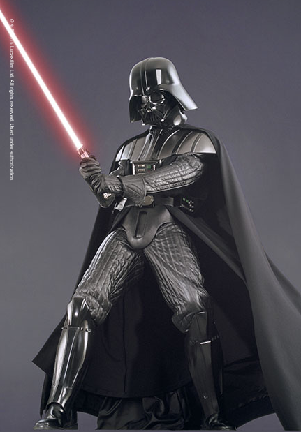 Darth Vader Costume, from Rebel, Jedi, Princess, Queen ...